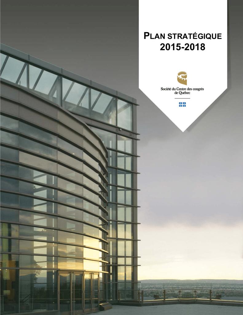 Tableau Synoptique Plan Strategique 2015 2018