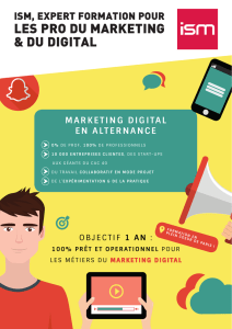 ISM - INSTITUT SUPÉRIEUR DU MARKETING