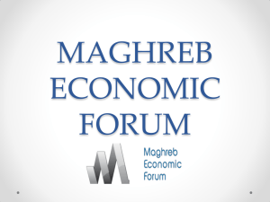 maghreb economic forum