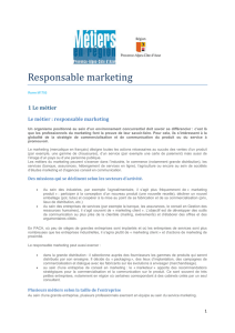 Responsable marketing