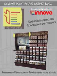 "Devenir point-relais - Implanter un ""corner"" Instinct Deco dans votre"