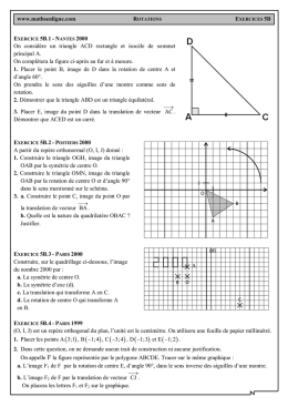 www.mathsenligne.com On considère un triangle ACD rectangle et