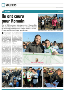 Ils ont couru pour Romain - Association Huntington France