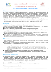 Document d`Information du Patient