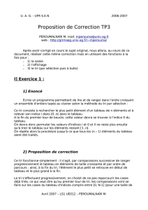 Proposition de Correction TP3