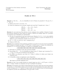 TD 2 - Université de Cergy