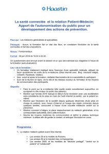 Programme de formation - Polyclinique Saint Jean