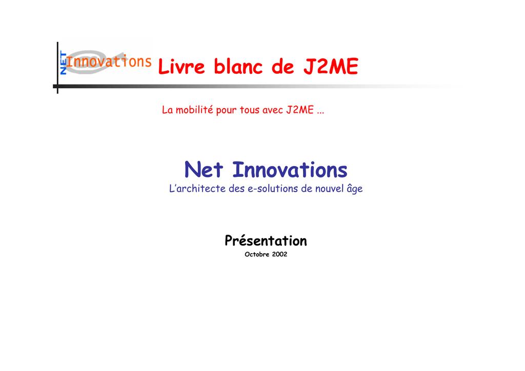 Net Innovations