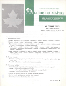 guide du maitre - Office national du film du Canada