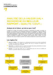 analyse de la valeur - Innovation.public.lu
