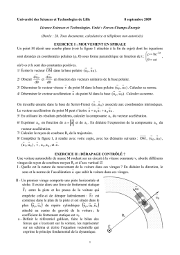 Page 1 1 Université des Sciences et Technologies de Lille 8