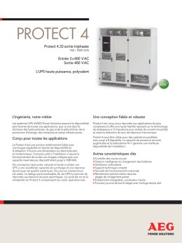 protect 4 - AEG Power Solutions