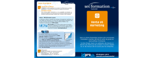Vente et marketing