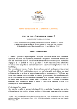 Appel à communication [PDF - 237 Ko ]