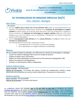 diplôme imagerie médicale