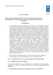 avis de publication - UNDP | Procurement Notices