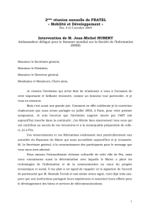 Intervention de M. Jean-Michel HUBERT