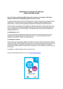 depistage du cancer colorectal
