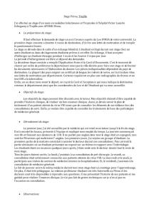 Rapport De Stage Service De Chirurgie Generale Hopital