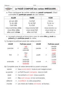 Conjugaison Du Verbe Aller Indicatif Subjonctif Conditionnel
