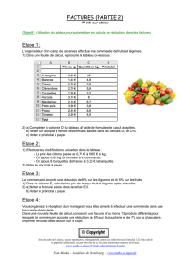 OPTION INFORMATIQUE 6eme