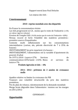 rencontres regionales iaa
