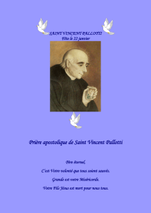 saint vincent pallotti - Saint Michel Prince des Anges