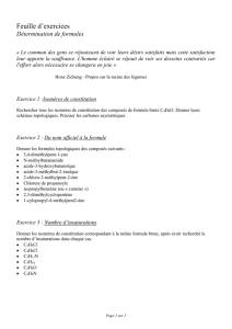 Chimie/Feuille d`exercices/Formesbrutes