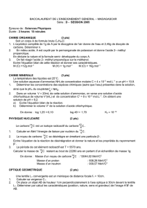 baccalaureat de l`enseignement general – madagascar