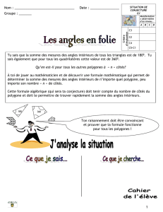 les angles en folie