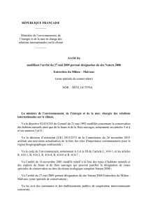 FR4301328_Arrete_modificatif - Consultations publiques