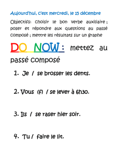 Do Now - mainlandfrench