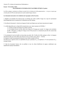 Fiche TD transmissions informations