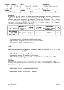 Séquence 13 sciences exercices Tle Bac Pro TC - maths