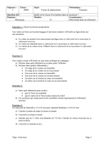 Séquence 5 sciences exercices 2nde Bac Pro - maths