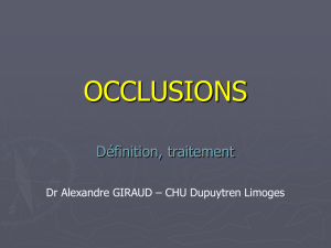 Cours paramed occlusion - E