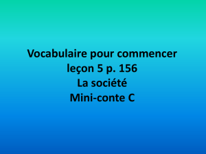 Vocabulaire du court métrage