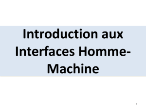 COURS 1-Introduction aux interfaces Homme