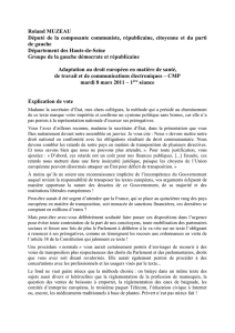 Adaptation droit europeen RMuzeau EV 08 03 11