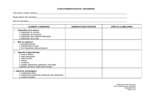 fiche d`observation de la session pratique