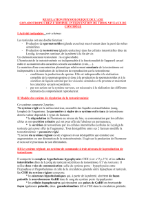 REGULATION PHYSIOLOGIQUE DE L`AXE