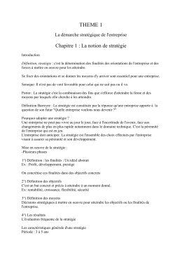 Chapitre 6 - First Creation