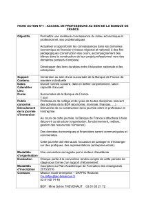 Fiche action n°1 : stage individuel enseignant