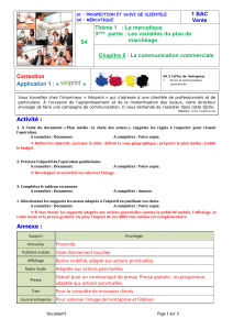 CH08.03 Communication Commerciale App1 Correction