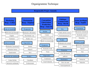 Organigramme Technique