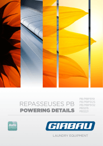 repasseuses pb - Automatic Industries