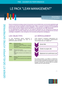 Fiche Lean Management