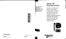 ALTIVAR 28 documentation