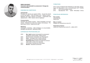 Voir le CV - Neo Light