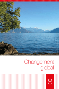 Changement global